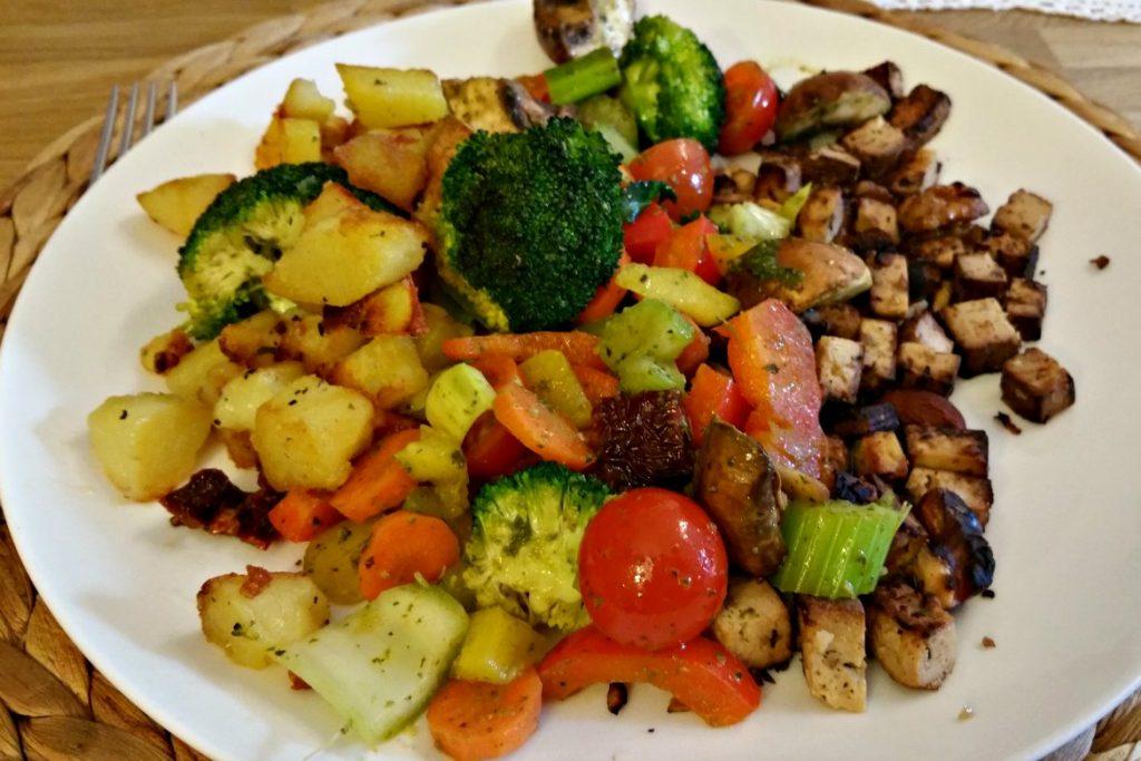 BLE Mittagessen - alles abgewogen - kein Zucker kein Mehl
