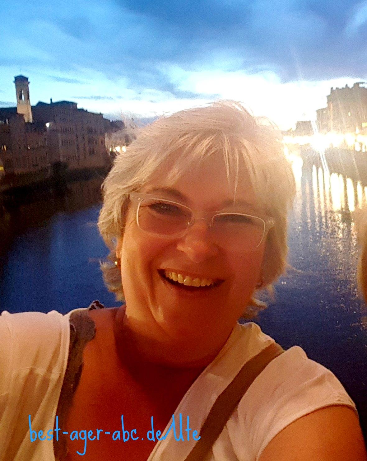 Ute auf Ponte Vecchio