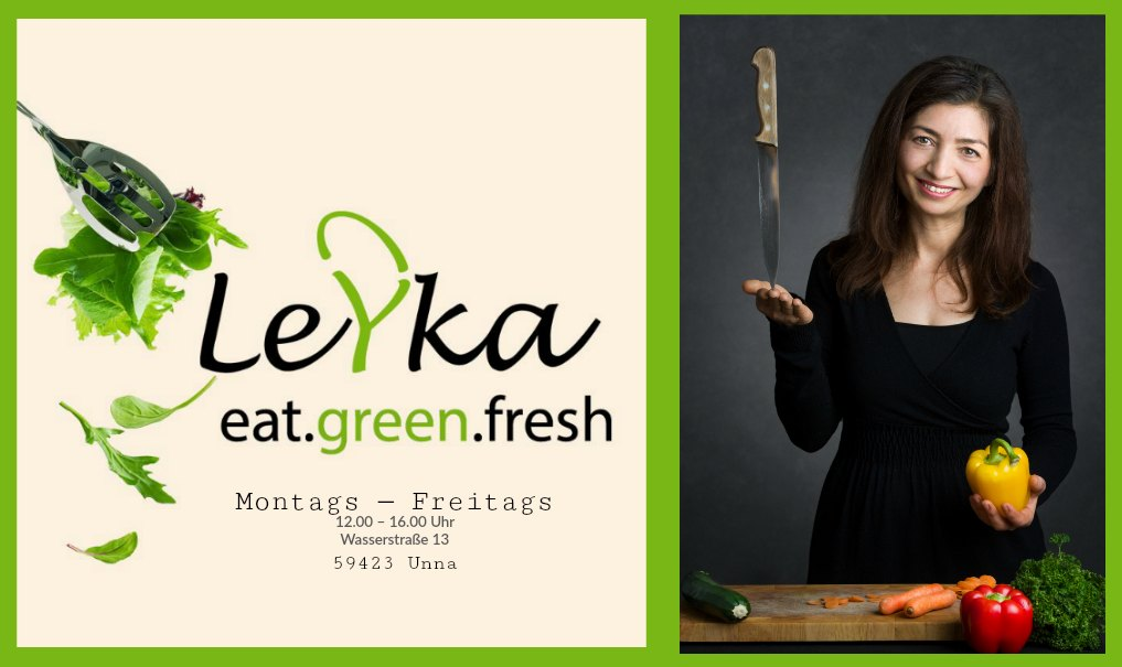 Leyka Unna Eat.Green.Fresh - veganes Essen in Unna